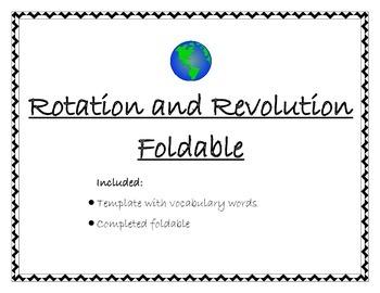 Rotation vs. Revolution Foldable