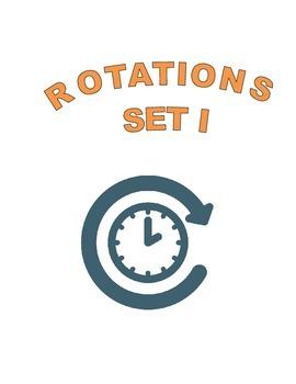 Rotations-Set I- Math Geometry