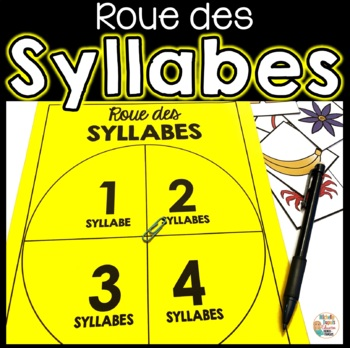 Roue des syllabes (1 syllabe, 2 syllabes, 3 syllabes et 4