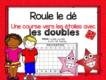 Roule le dé - doubles - A dice game version of Race To The Top
