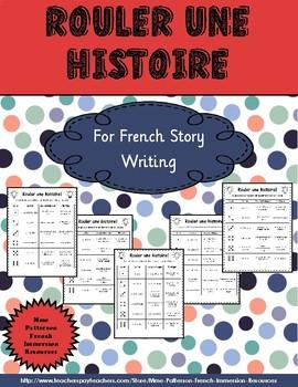 Rouler une histoire - Pratiquer l'écriture pour les 5 au q