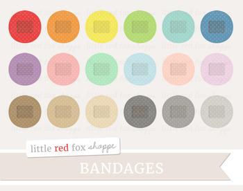 Round Bandage Clipart