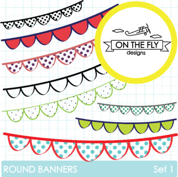 Round Banners Set 1