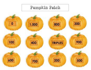 Round as a Pumpkin - Rounding Game -  round to nearest 100