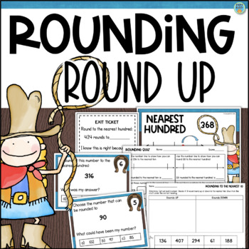 Rounding Numbers to the Nearest Ten and Nearest Hundred