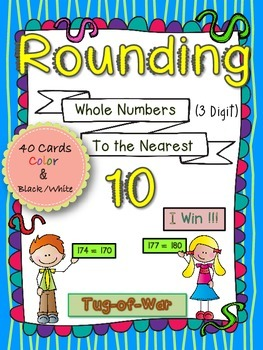 Rounding to the Nearest 10 Math Activity
