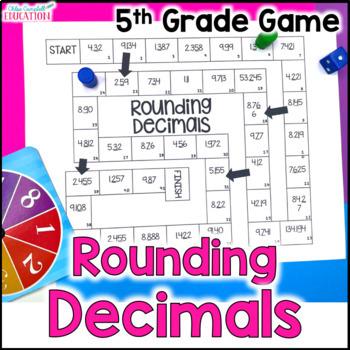 Rounding Decimals Board Game
