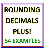 Rounding Decimals Plus
