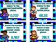 Rounding Decimals Task Cards-Set One-12 Task Cards