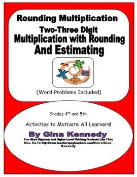 Rounding Estimating Two-Three Digit Multiplication, Common