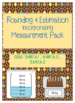 Rounding & Estimation Incorporating Measurement: Common Co