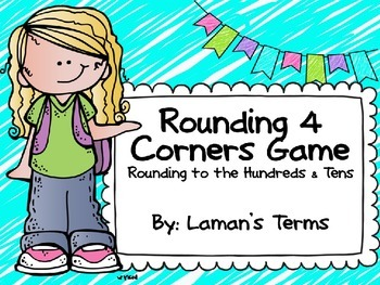 Rounding Four Corners Game Powerpoint