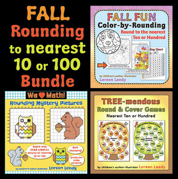 Rounding to Nearest 10 and 100 Bundle
