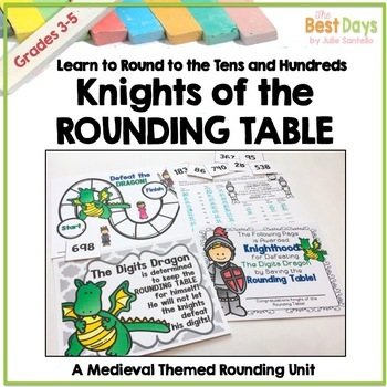 Rounding Numbers to Tens and Hundreds:  Knights of the Rou