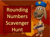 Rounding Numbers Scavenger Hunt