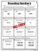 Rounding Numbers Worksheets