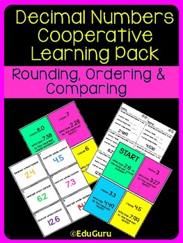 Rounding Ordering and Comparing Decimal Numbers Pack