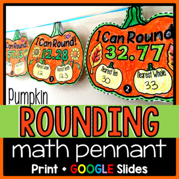 Rounding Pennant {with decimals}