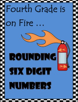Rounding Six Digit Numbers - Memory Match Game