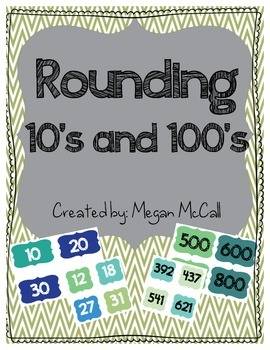 Rounding Sort--10's and 100's