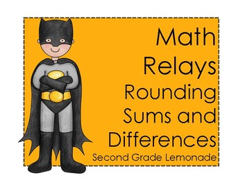 Rounding Sums and Differences - Math Relay Races