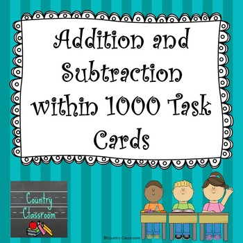 Adding and Subtracting within 1000 3.NBT.2