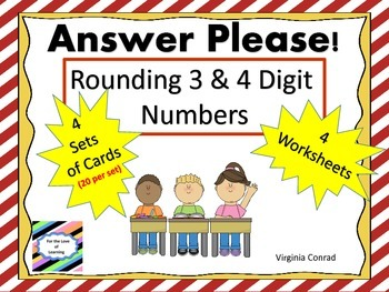 Rounding:  Task Cards and More