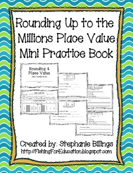 #AUSBTS17 Rounding Up to the Millions Place Value Mini Pra
