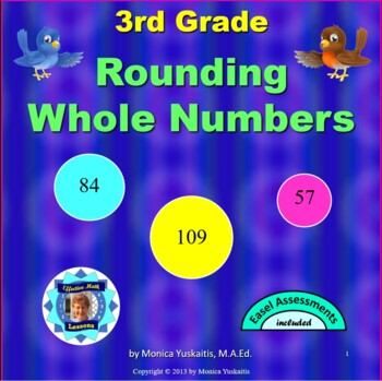 Common Core 3rd - Rounding Whole Numbers