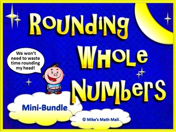 Rounding Whole Numbers Made Easy (Mini-Bundle)