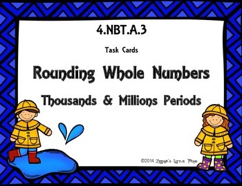 Rounding Whole Numbers (Through the Millions Period) {Math