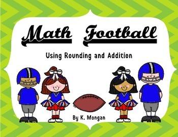 Rounding and Adding - Math Football