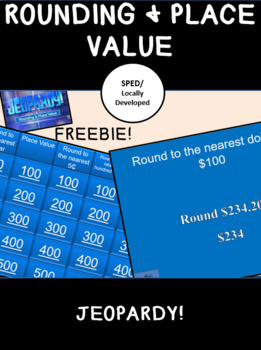 Rounding and Place Value Jeopardy