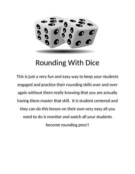 Rounding game or center (student centered learning)
