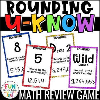 Rounding Game for Math Centers or Stations