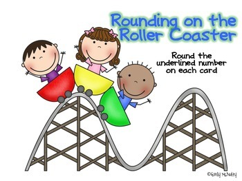 Rounding on the Roller Coaster - Tens, Hundreds, Thousands