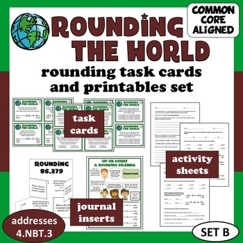 Rounding the World - reasoning about rounding task cards &