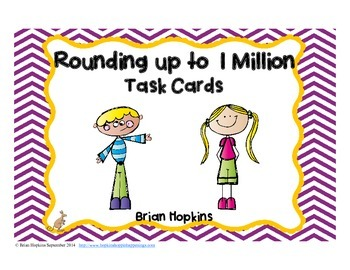 Rounding to 1 Million Task Cards