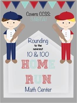 Rounding - Nearest Ten & Hundred - Baseball Math Center So