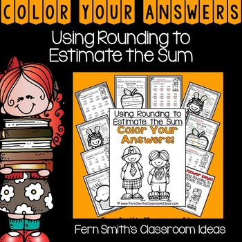 Color By Numbers Rounding to Estimate the Sum Color By Cod