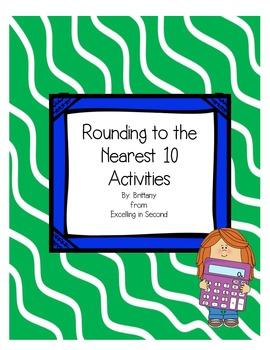 Rounding to the Nearest 10 Activities