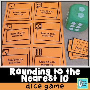 Rounding to the Nearest 10 Roll and Play