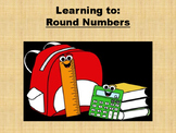 Rounding to the nearest 10 and 100 printable worksheet