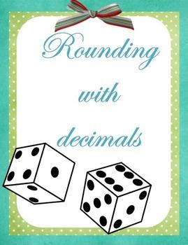 Rounding with Decimals Dice Game