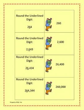 Rounding - for 3rd - 4th grade