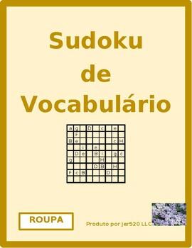 Roupa (Clothing in Portuguese) Sudoku