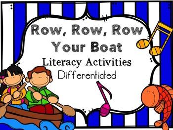 Row, Row, Row your Boat Literacy Activities