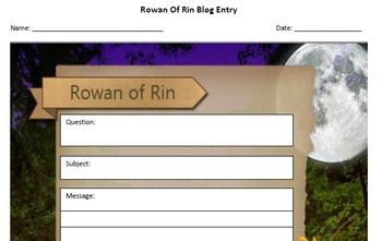 Rowan of Rin Blog Template