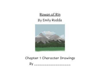 Rowan of Rin Character Book