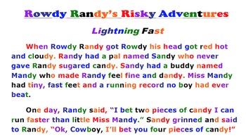 Rowdy Randy's Risky Adventure-Lightning Fast-Reading Passa
